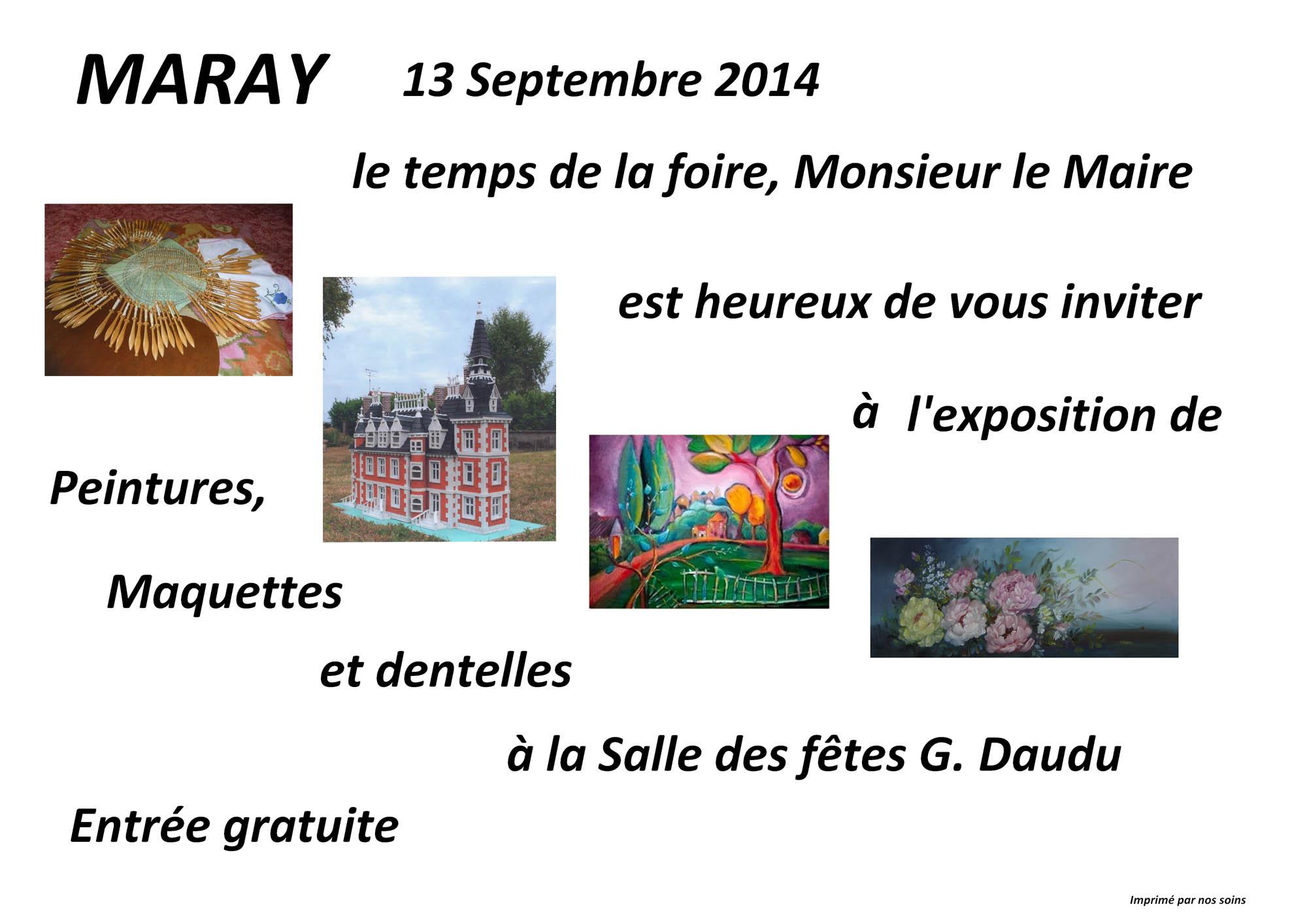 Sept2014 expo Maray